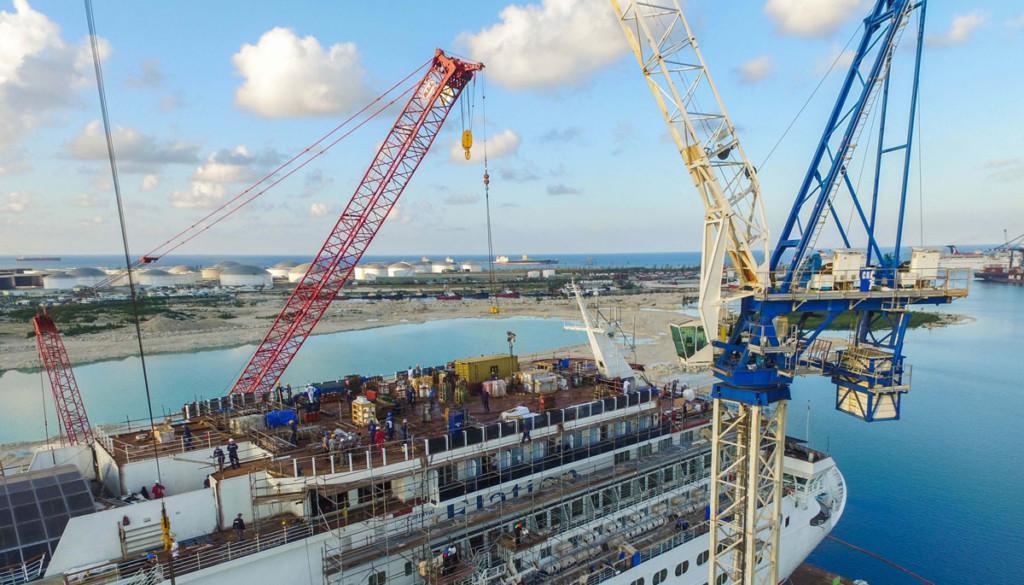Modernization project lifting